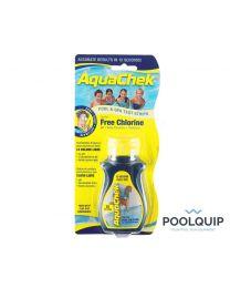 AquaChek teststrips, chloor 4 in 1