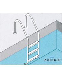 Ideal ladder wijd model met 3 treden
