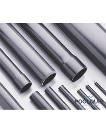 PVC buis 50 mm uitwendig, (buis, lengte 5 m)
