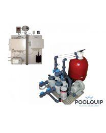 Poolquip filterunit Overloop whirlpools