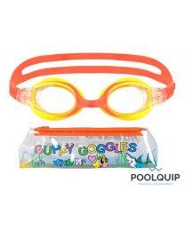 Malmsten zwembril Guppy Yellow/Orange