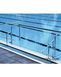 Malmsten Waterpolo Goal Klappex muurbevestigd