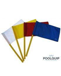 Poolquip Waterpolo Vlaggen set van 4st
