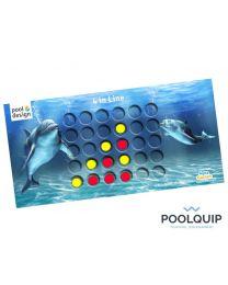 Aquagames 4 op een rij, inclusief 30 fiches