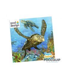 Aquagames Puzzle schildpad 25-delig