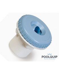 """BWT Nozzle liner met 2"""" schroefdraad of 50 mm lijm lichtblauw"""