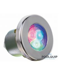 Ignia onderwaterspot LED RGB, RVS wit