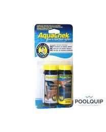 AquaCeck Teststrips, Zout+Chloor 4 In 1