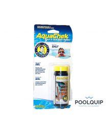 AquaChek Teststrips, Zout
