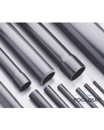 PVC buis 75 mm uitwendig, (buis, lengte 5 m)