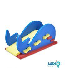 Walvis glijbaan - 200x100x100