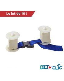 FixoClic snelkoppeling voor 2 matten 10 pack