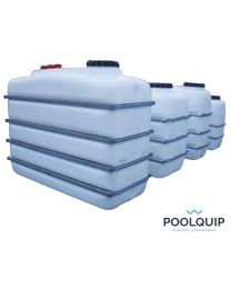 Poolquip Buffertank 1100 l. 1400 x 720 x 1389 mm