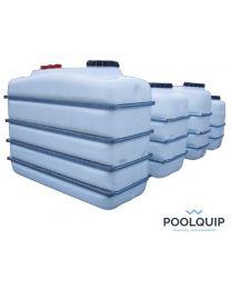 Poolquip Buffertank 2500 l. 1870 x 995 x 1650 mm