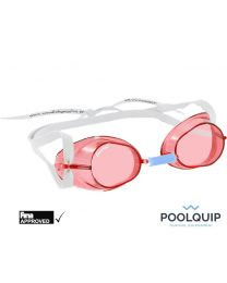Malmsten zwembril Swedish goggles standard Rood