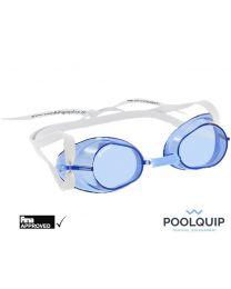Malmsten zwembril Swedish goggles Anti-Fog Blauw