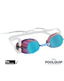 Malmsten zwembril Swedish goggles Metallic Blue Oil
