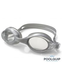 Poolquip Zwembril Flipper Silver Crystal