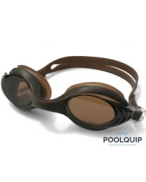 Poolquip Zwembril Flipper Brown Opal