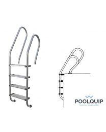 Poolquip Ladder Openbaar Model 4 treden