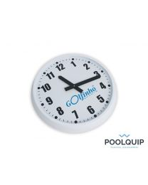 Poolquip Wandklok S wit Ø 30 cm