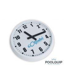 Poolquip Wandklok M wit Ø 45 cm