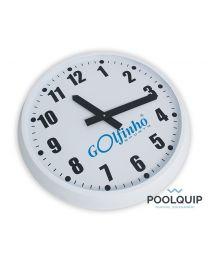 Poolquip Wandklok L wit Ø 60 cm