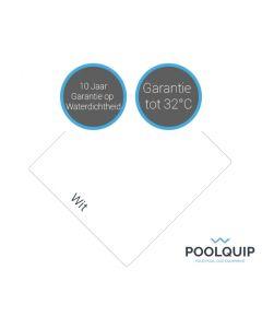 Ocean folie Deluxe antislip Wit 1,65 meter